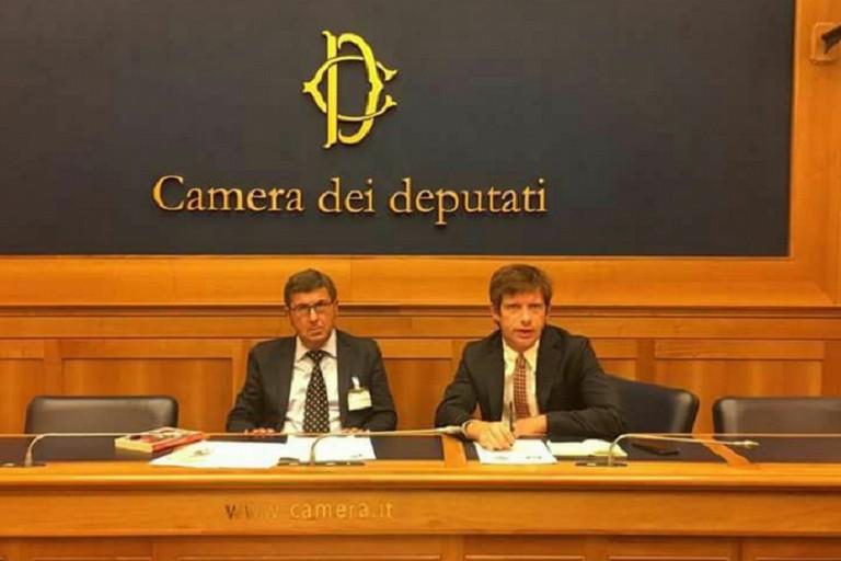 Pippo Civati col presidente nazionale del Partito del Sud Cuccurese