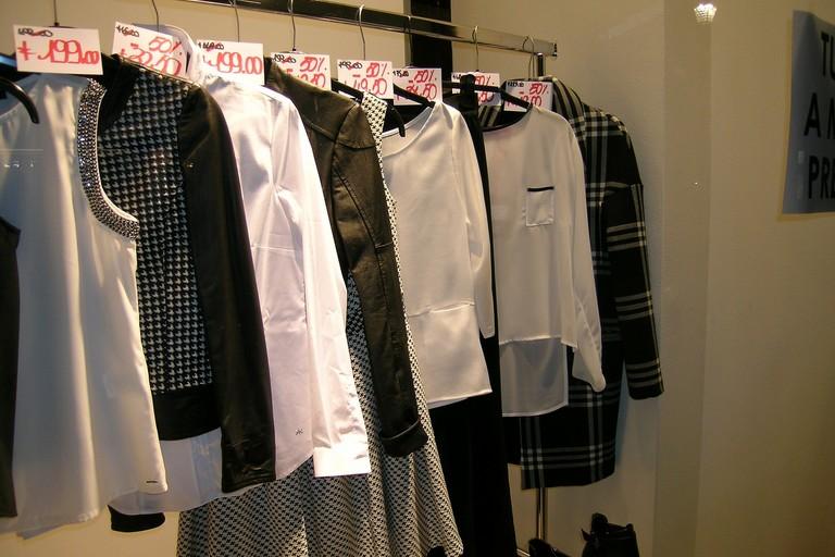 Negozio di abbigliamento (repertorio)