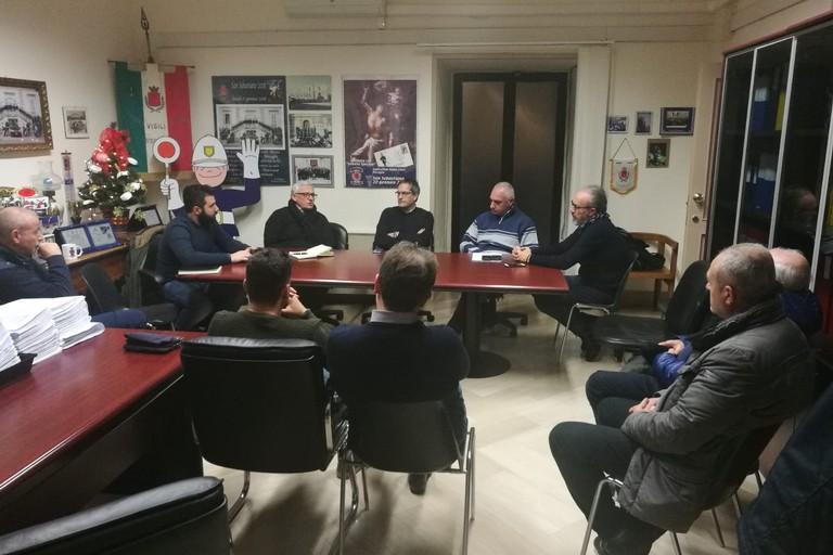 Riunione del Centro operativo comunale per fronteggiare l'emergenza maltempo