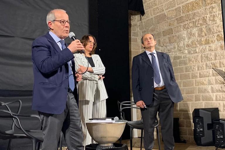 Joseph Ejarque con Leo Carriera e Rachele Barra