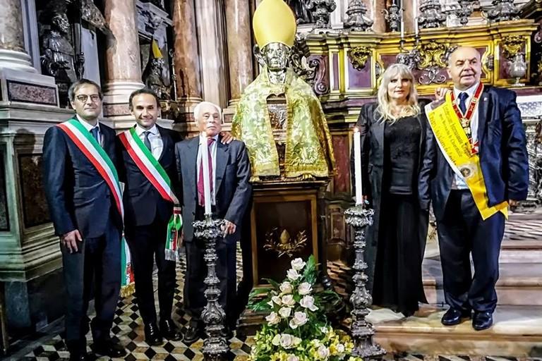 Il sindaco Angarano al Concerto per la pace organizzato dal Club UNESCO Bisceglie a Napoli