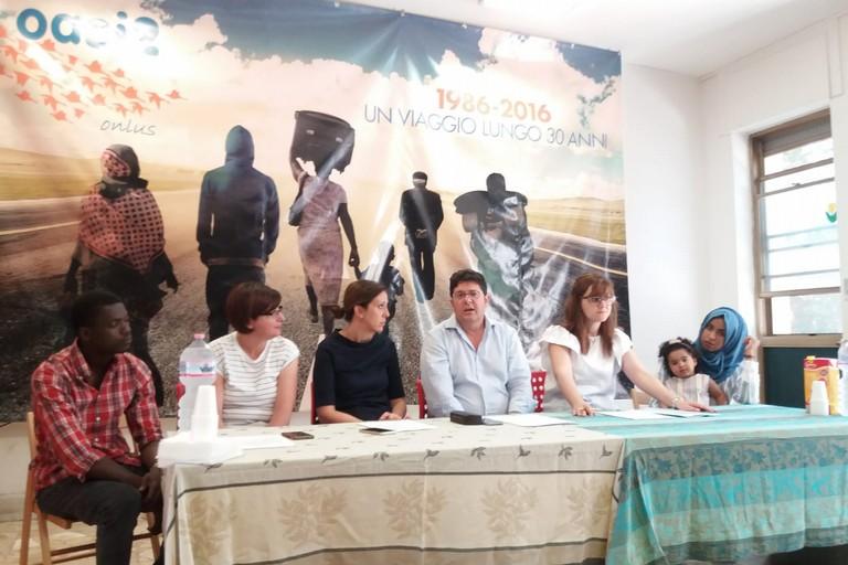 Conferenza stampa di presentazione della biciclettata del rifugiato