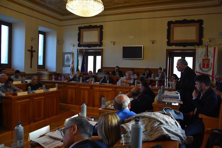 Consiglio comunale. <span>Foto Antonio Lopopolo</span>