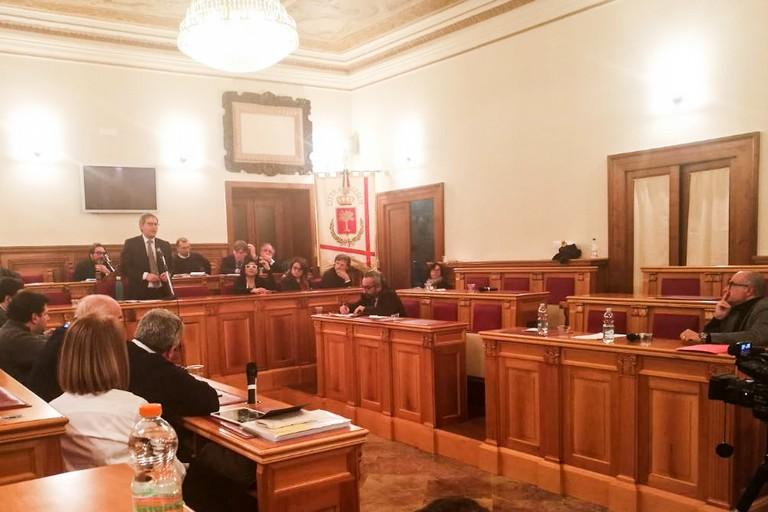 Riunione del consiglio comunale di Bisceglie del 20 gennaio