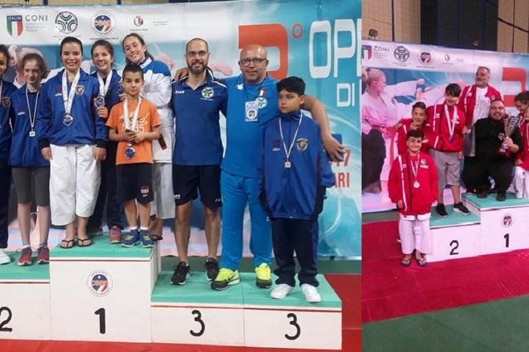 Fiamme Cremisi e Zanshin sul podio al PalaFlorio nel trofeo Csen