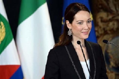 L'attrice Cristiana Capotondi