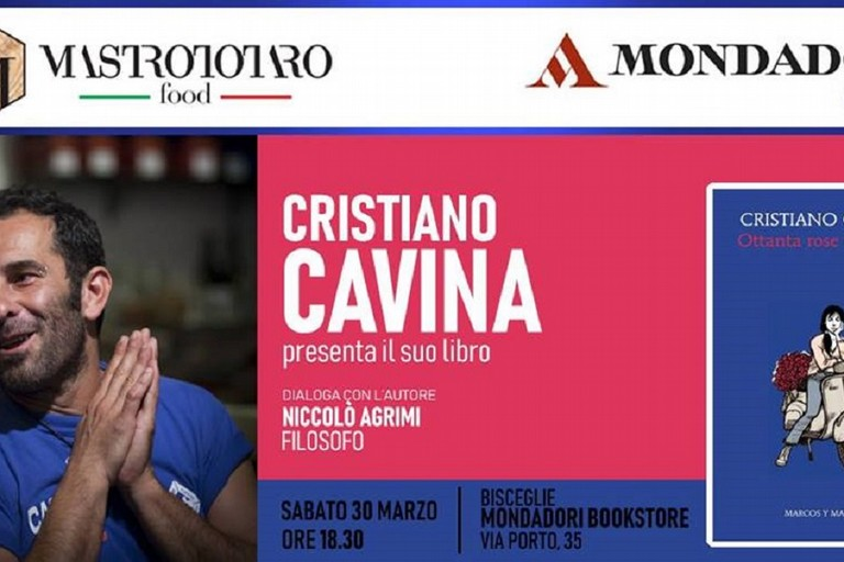 Cristian Cavina presenta il libro