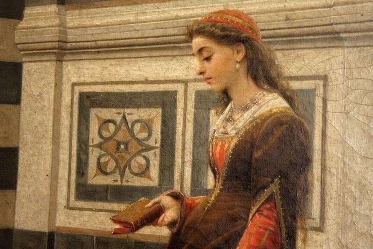 Dipinto di dama