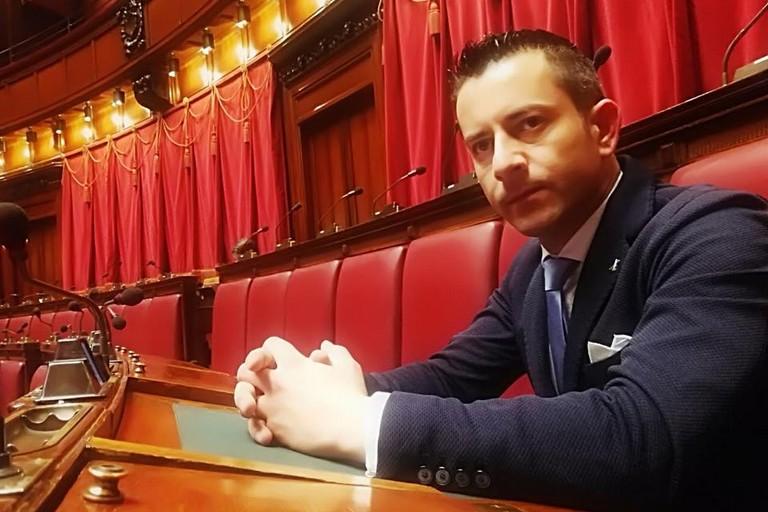 Il deputato biscegliese Davide Galantino