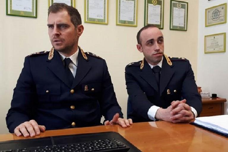 Davide Lamanuzzi (a destra)
