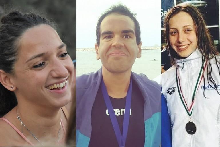 Elena Di Liddo, Daniel Douglas Di Pierro e Lucrezia Napoletano