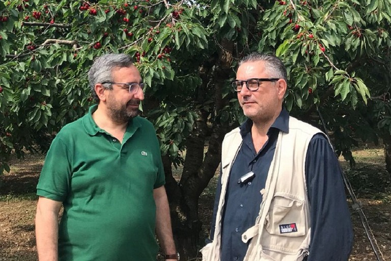 Il sindaco facente funzioni Vittorio Fata e il consigliere comunale Enzo Di Pierro