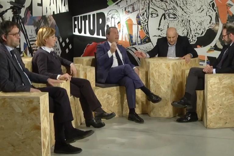 Vivace dibattito televisivo sulle prossime elezioni amministrative