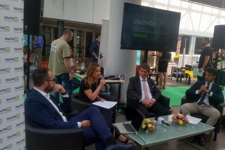 Presentazione della terza edizione della maratona DigithON al Politecnico di Bari