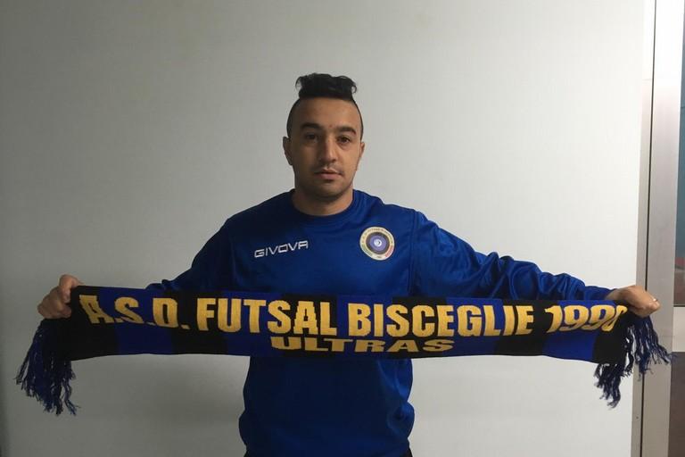 Dile Gomes, nuovo acquisto del Futsal Bisceglie