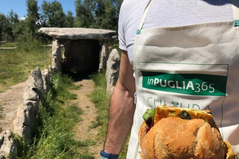 L'iniziativa Puglia pic nic al Dolmen della chianca