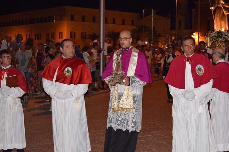 Don Nicola Napolitano, parroco di San Vincenzo de' Paoli