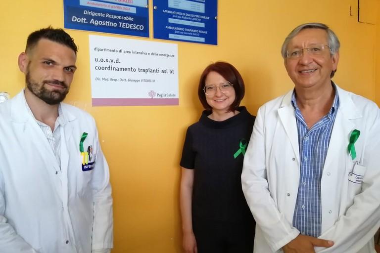 Donazione organi e tessuti Asl Bt