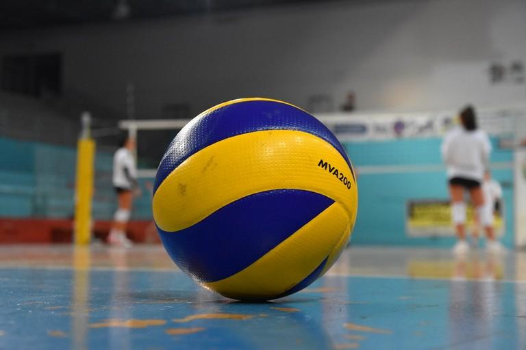 Pallone volley. <span>Foto Antonio Lopopolo</span>