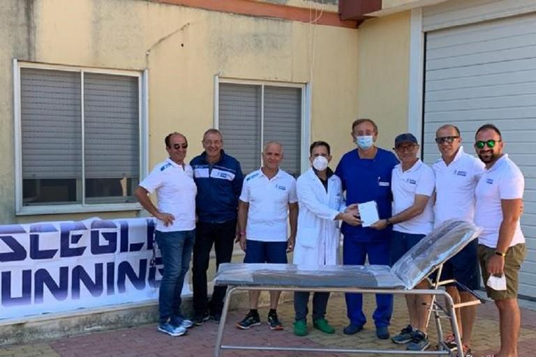Bisceglie Running dona un lettino al reparto di pediatria del