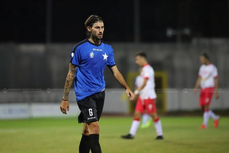 Bisceglie calcio: Edoardo Vona. <span>Foto Emmanuele Mastrodonato</span>