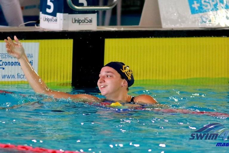 Europei di nuoto in vasca corta, Elena Di Liddo in finale con la staffetta 4x50 stile libero