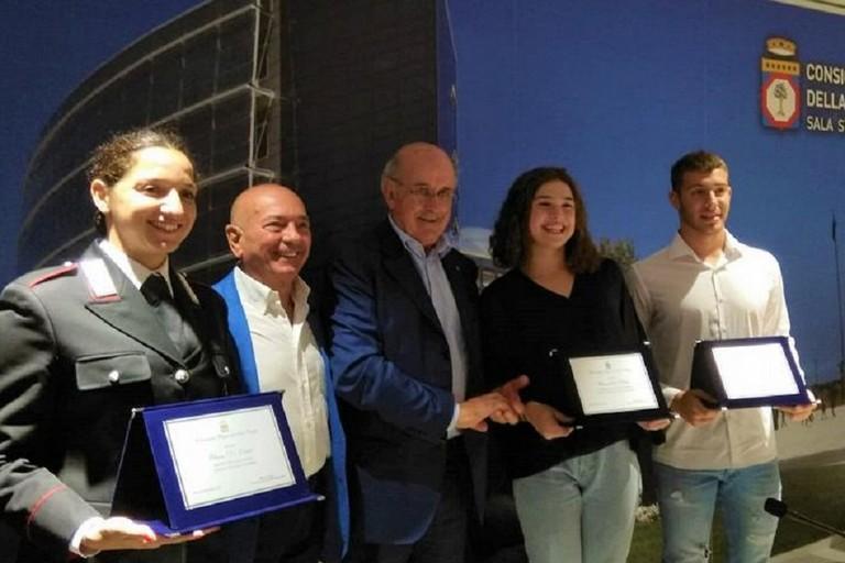 Elena Di Liddo premiata dal consiglio regionale della Puglia