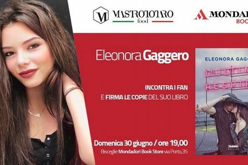 Eleonora Gaggero incontra i fan e firma le copie del suo libro