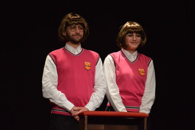 Elisabetta Tortora e Francesco Di Tondo della Compagnia dei Teatranti