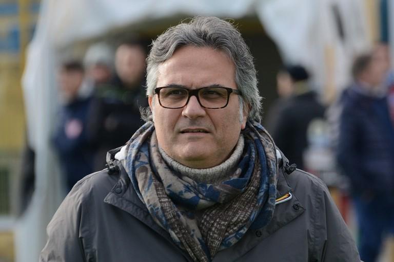 Enzo Pedone, presidente dell'Unione Calcio Bisceglie. <span>Foto Sergio Porcelli</span>