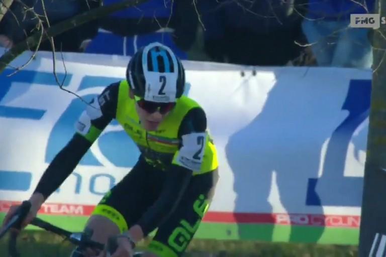 Ettore Loconsolo in azione ai campionati italiani