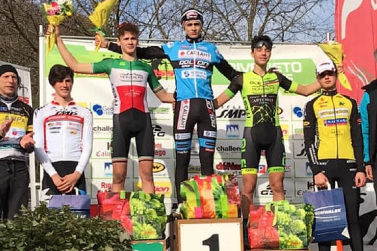 Ettore Loconsolo e Vittorio Carrer sul podio a Gorizia