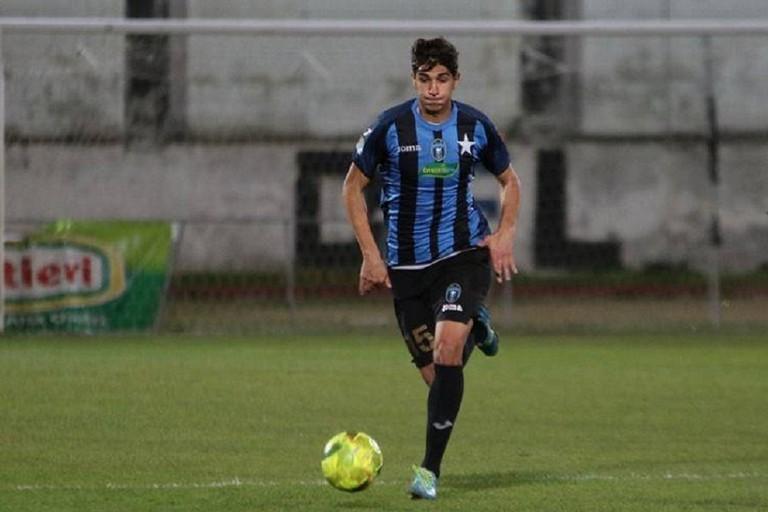 Fabio Delvino, difensore del Bisceglie. <span>Foto Emmanuele Mastrodonato</span>