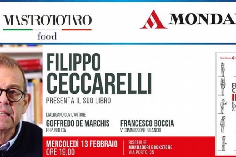 Filippo Ceccarelli presenta il suo libro