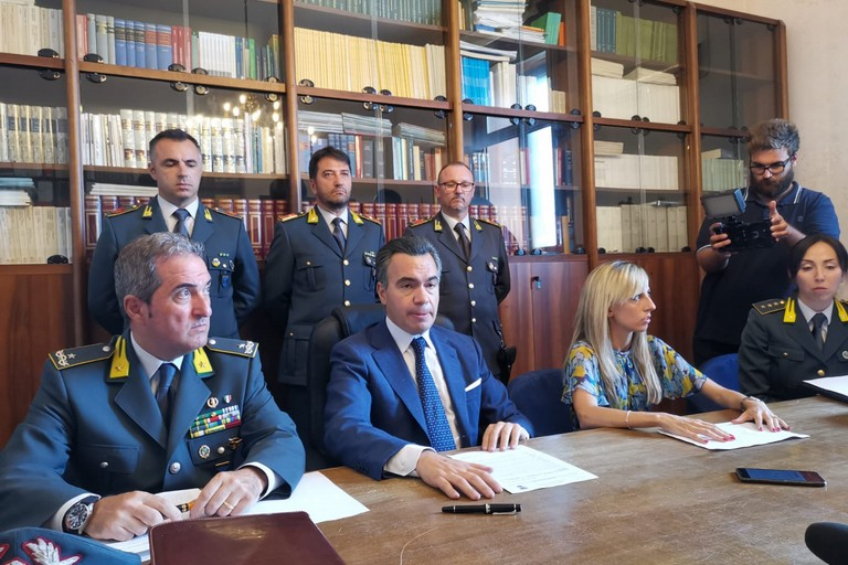 Conferenza stampa in Procura a Trani