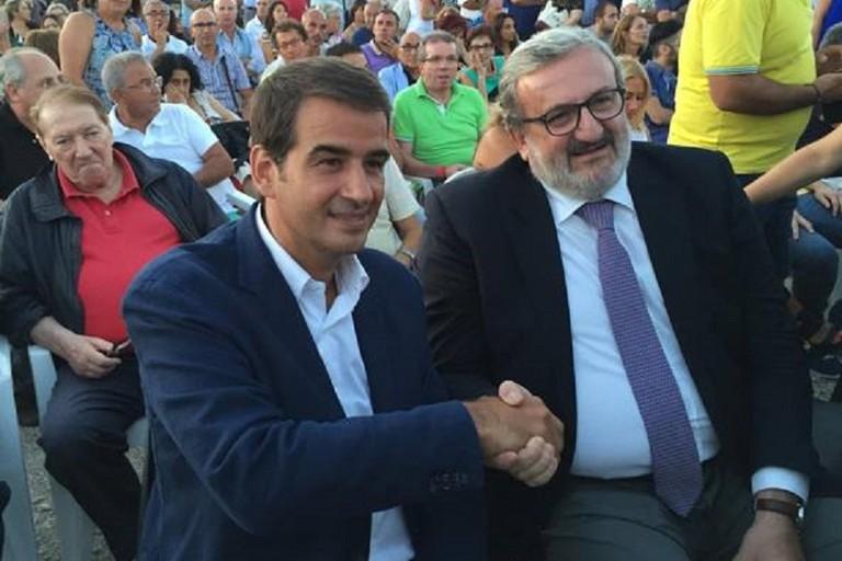 Raffaele Fitto e Michele Emiliano