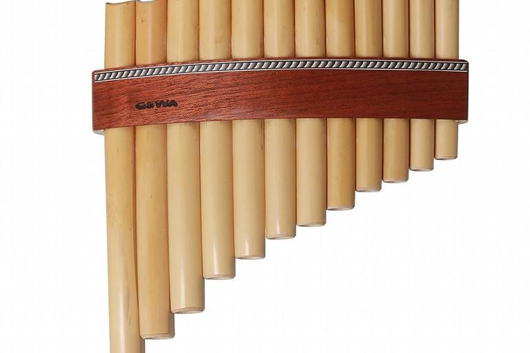 Flauto etnico a canne