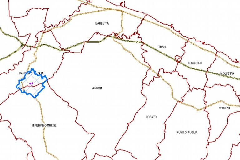 Mappa Xylella Puglia.Focolaio Di Xylella Rilevato A Canosa Di Puglia