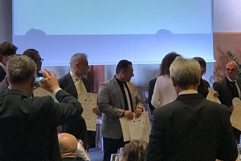 Premio Industria Felix al Frantoio Galantino