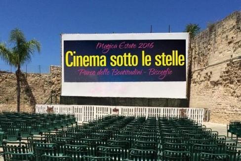cinema sotto le stelle bisceglie