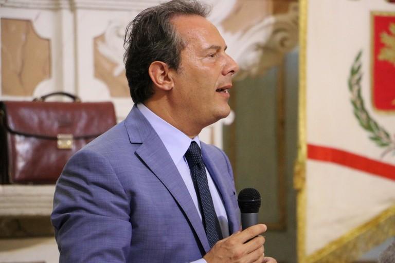 Francesco Spina ambisce a una candidatura per il parlamento. <span>Foto Serena Ferrara</span>