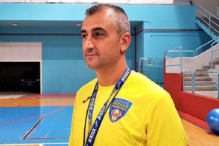 Francesco Ventura, trainer del Bisceglie Femminile