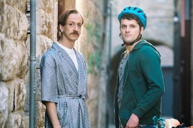 Frank Matano (a destra) protagonista di