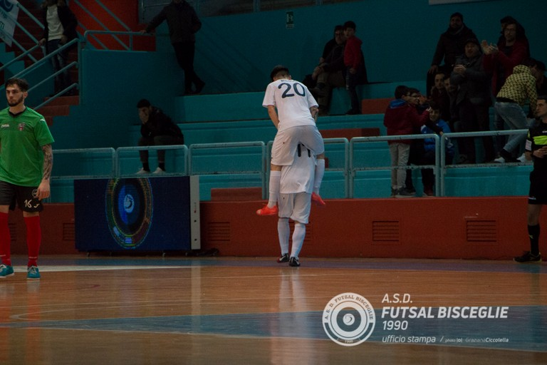 Futsal Bisceglie. <span>Foto Graziana Ciccolella</span>