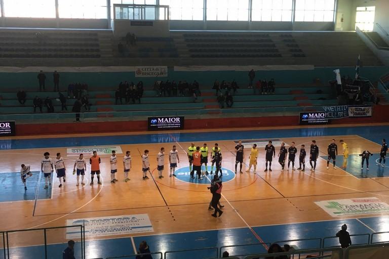 Futsal Bisceglie-Atletico Cassano. <span>Foto Luca Ferrante</span>