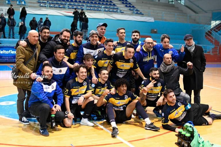 Futsal Bisceglie-Marigliano. <span>Foto Marcello Papagni</span>