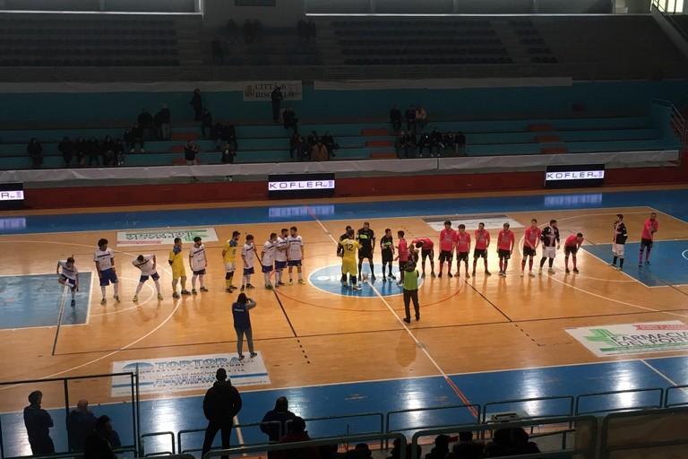 Futsal Bisceglie-Salinis Margherita (Foto Luca Ferrante)