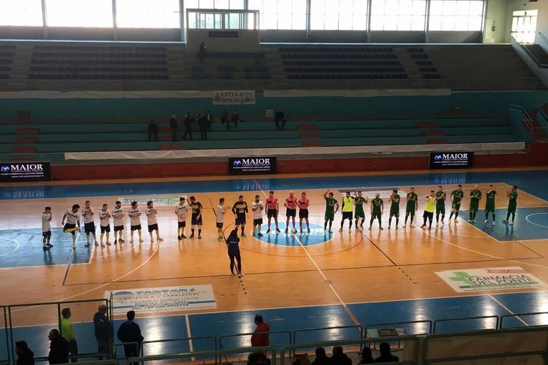 Futsal Bisceglie-Sandro Abate (Foto Luca Ferrante)