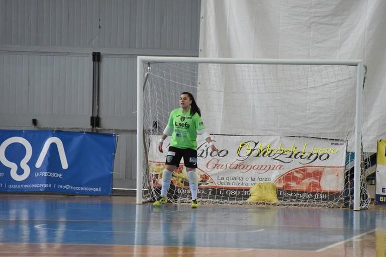 Gabriela Oselame. <span>Foto Michele Liseno</span>