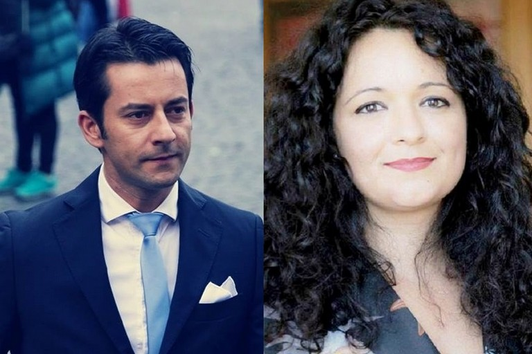 Davide Galantino e Francesca Galizia